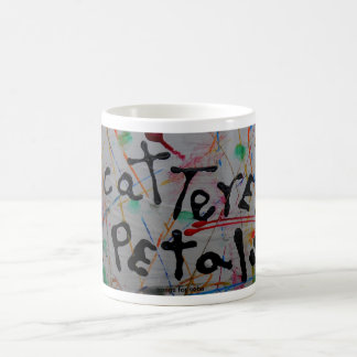"""""""scattered petals"""" coffee mugs"""