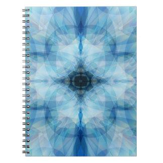 Scattered Petals Spiral Notebook
