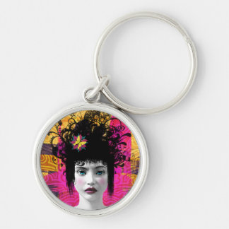 Scattered Reminders Art Keychain
