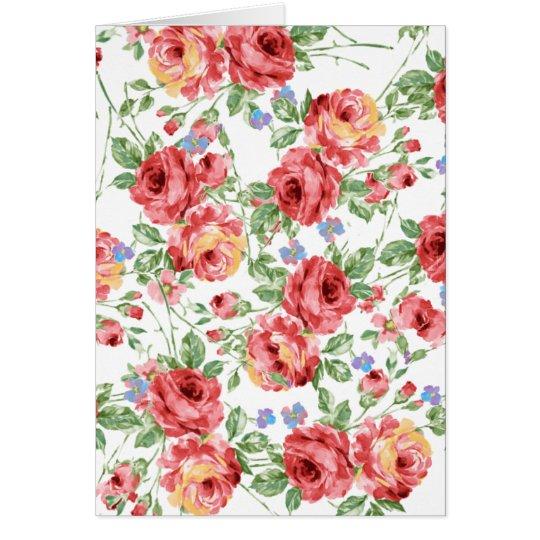 Scattered Roses by BobCatDesign Card