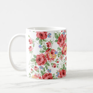 Scattered Roses Coffee Mug