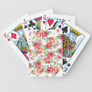 Scattered Roses Playing Cards