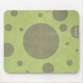 Scattered Spots on Leather Texture Mouse Pad
