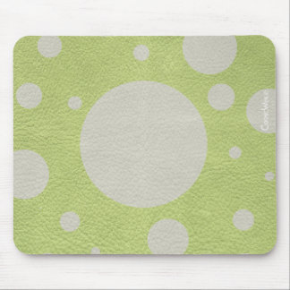 Scattered Spots on Leather Texture* Mouse Pad