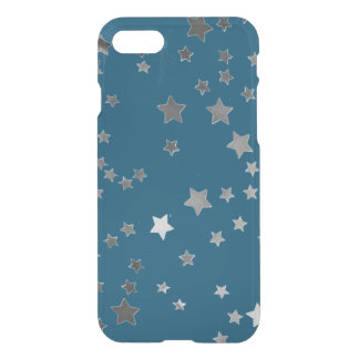 Scattered Stars on Blue iPhone 7 Case