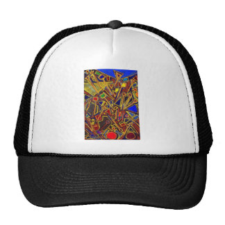 Scattered Stationery (abstract expressionism ) Trucker Hat