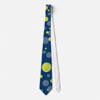 Scattered Tennis Balls | Sports Gift Tie