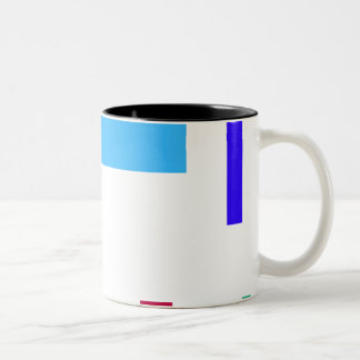 Scattered Two-Tone Coffee Mug