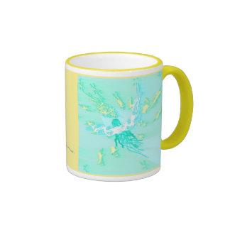 SCATTERING STARS RINGER COFFEE MUG