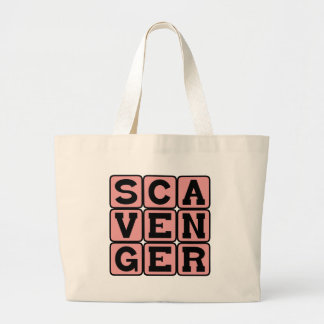 Scavenger Frugal Way of Life Canvas Bags