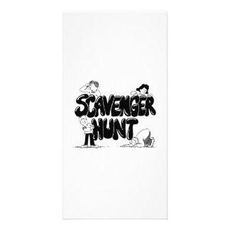 Scavenger Hunt Card
