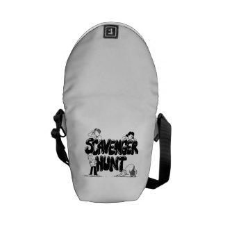 Scavenger Hunt Messenger Bag