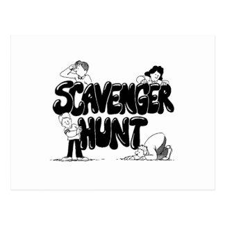 Scavenger Hunt Postcard