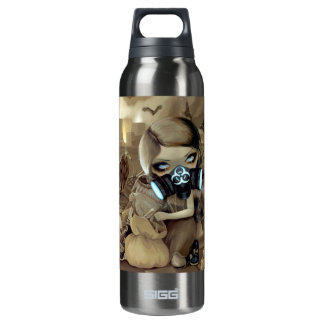 Scavengers Cyberpunk Fairy Gothic 16 Oz Insulated SIGG Thermos Water Bottle