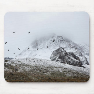 Scavengers in Snow Mouse Pad