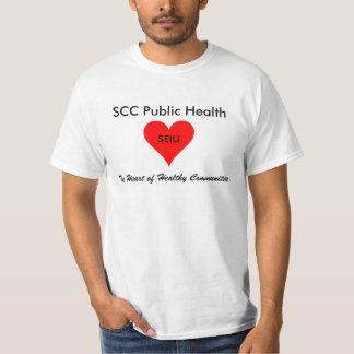 SCC Public Health: SEIU 521 T-shirt