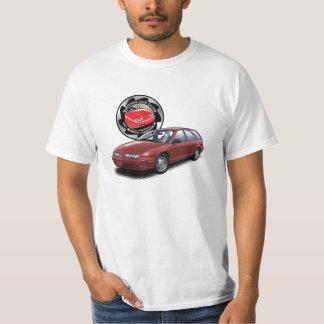 SCCNA Deep Red Saturn Gen 2 Wagon T-Shirt
