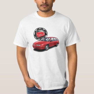 SCCNA Hot Red Saturn Gen 2 Wagon T-Shirt