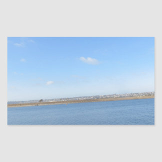 Scenary from Southern California Rectangular Sticker