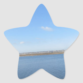 Scenary from Southern California Star Sticker