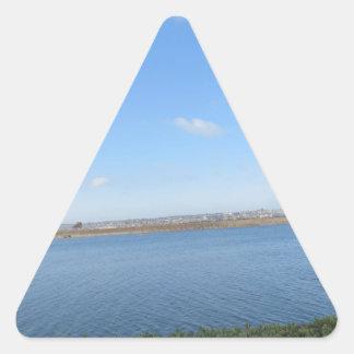 Scenary from Southern California Triangle Sticker