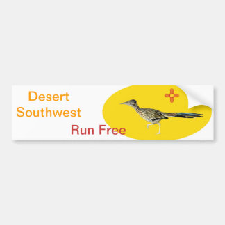 scene 09 roadrunner bumper sticker