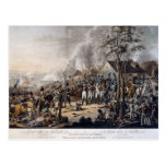 Scene after the Battle of Waterloo Postcard