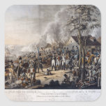 Scene after the Battle of Waterloo Square Sticker