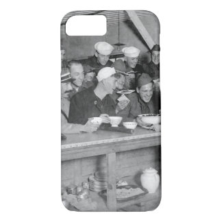 Scene at A.R.C. Canteen at the station_War image iPhone 7 Case
