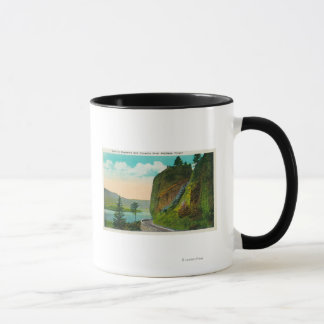 Scene at Shepperd's Dell on Columbia River Mug
