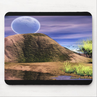 Scene by the Blue Moon Mouse Pad