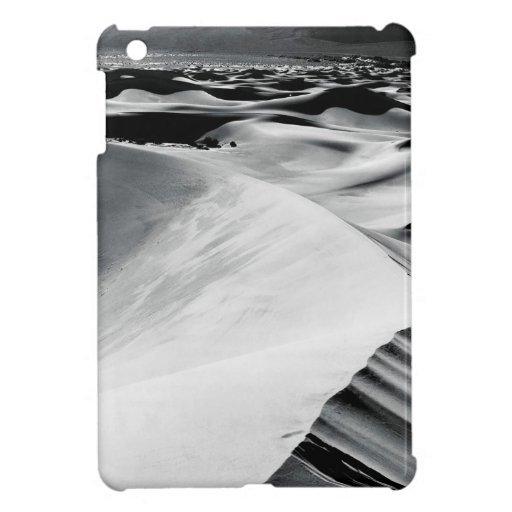 Scene Death Valley Sand Dunes iPad Mini Cover