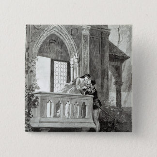 Scene from Act II of Romeo and Juliet Button