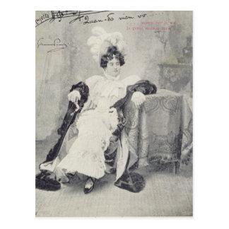 Scene from Act II of the opera 'La Boheme' Postcard