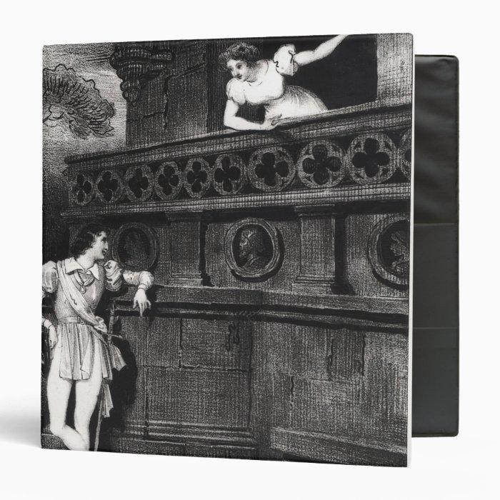 Scene from Act III of 'Romeo and Juliet' Binder