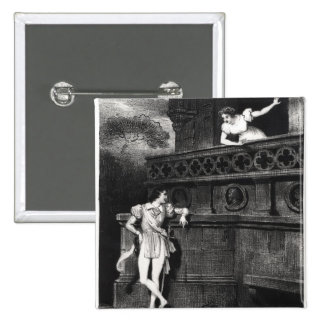 Scene from Act III of 'Romeo and Juliet' 2 Inch Square Button