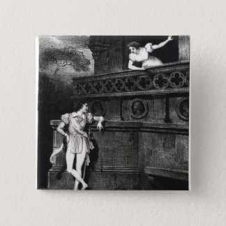 Scene from Act III of 'Romeo and Juliet' Pinback Button