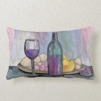 Scene From An Italian Restaurant Lumbar Pillow