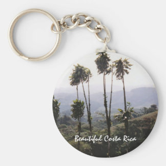 Scene from Arenal - Beautiful Costa Rica Basic Round Button Keychain