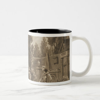 Scene from 'Don Giovanni' Two-Tone Coffee Mug