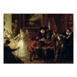 Scene from 'Don Quixote de la Mancha' Card