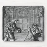 Scene from 'Le Misanthrope' Mouse Pad