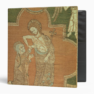 Scene from Life of Christ, detail from Syon Cope 3 Ring Binder