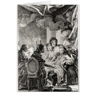 Scene from 'L'Ingenu' by Voltaire Greeting Cards