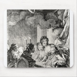 Scene from 'L'Ingenu' by Voltaire Mouse Pad