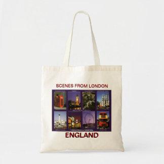 SCENE FROM LONDON BY MOJISOLA A GBADAMOSI OKUBULE BUDGET TOTE BAG