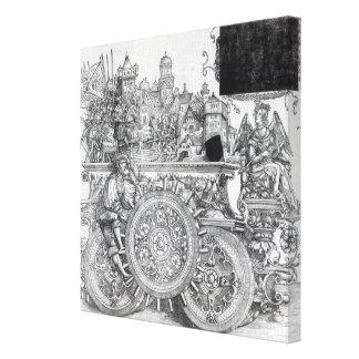Scene from Maximilian's Triumphal Procession Canvas Print