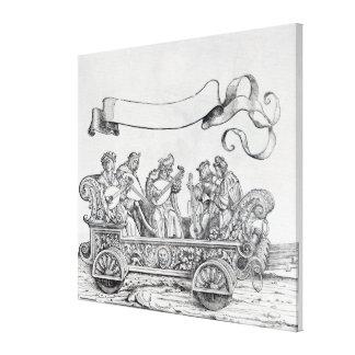 Scene from Maximilian's Triumphal Procession Canvas Prints