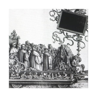 Scene from Maximilian's Triumphal Procession Canvas Print