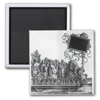 Scene from Maximilian's Triumphal Procession Magnet